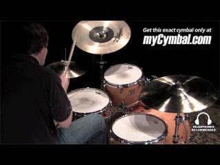 "Used Zildjian 19"" K Custom Hybrid China Cymbal (UK1220-1110311E)"