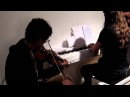 Nikos Mavridis violin and Ardek Clemens Wijers piano playing a Carach Angren medley