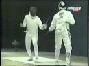 Sydney 2000 Men's Team Epee Ninth bout Alfredo Rota ITA vs Hugues Obry FRA