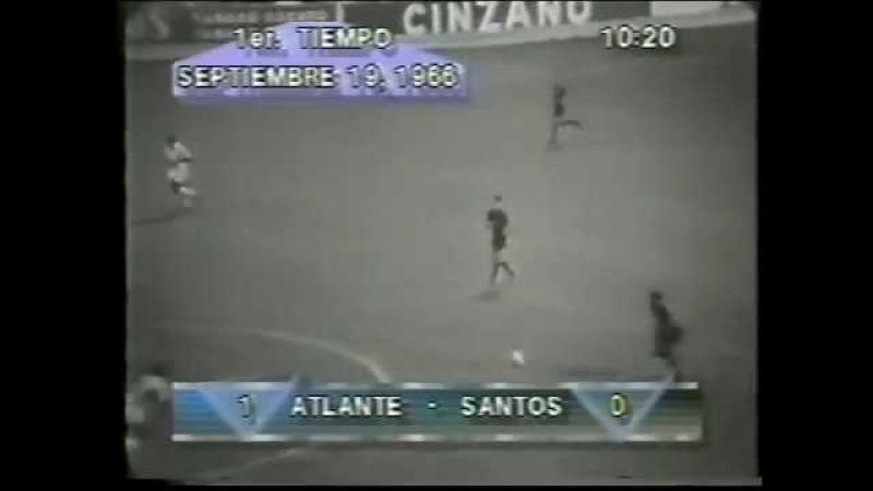 CF Atlante México 2x2 Santos FC - 30081966 - GolsPelé e Lima
