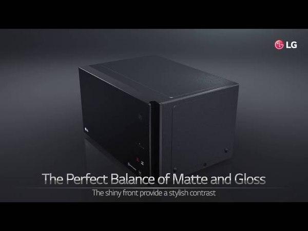 LG NeoChef premium microwave oven USP Video The Art of Minimalism