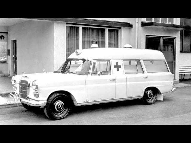 Mercedes Benz 200 D Binz KTW W110 '1965 68