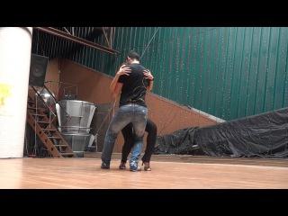 taller de bachata con Daniel y Desiree portal de la salsa 2012