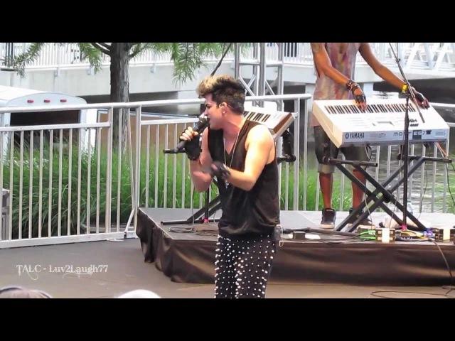 Adam Lambert HD Naked Love Freshtival National Harbor MD