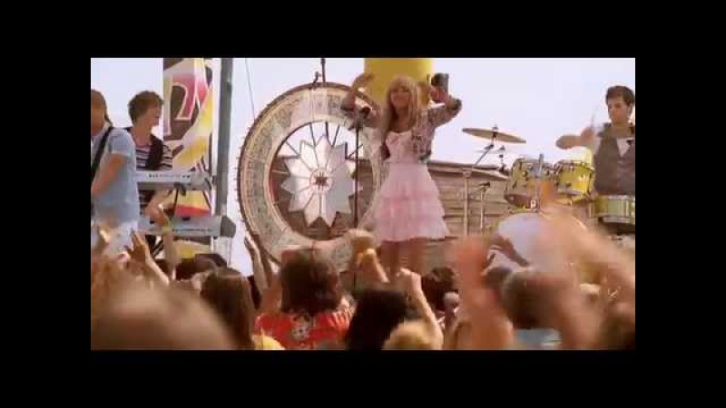 Hannah Montana Let's get crazy music video