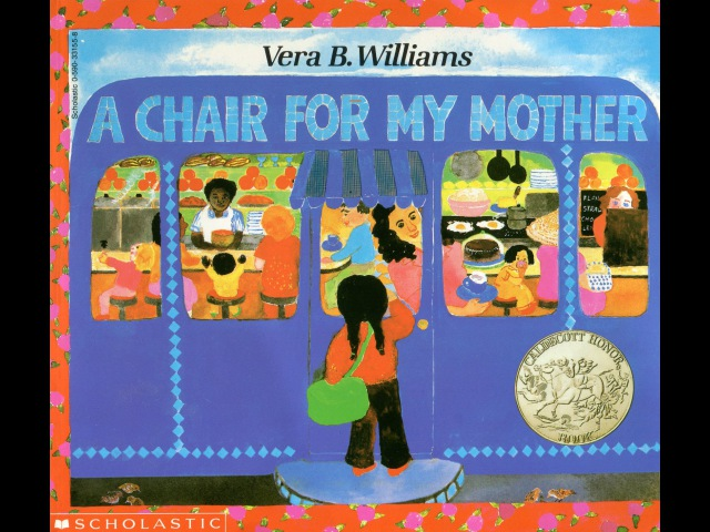 A chair for my mother by Vera B Williams Grandma Annii's Storytime