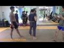 Buakaw Practicing Muay Chaiya @ Baan Kru Praeng