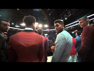 2015 NBA Draft: Top Prospects on Stage in Phantom Slow-Mo