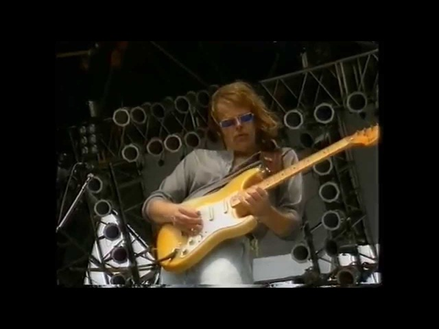 Walter Trout Cold Cold Feeling Midtfyns Festival 1990 TV