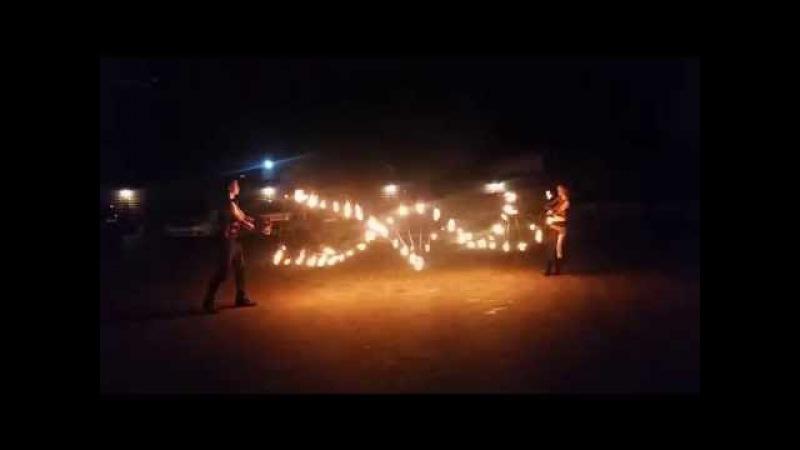 Вогняна програма (3 артисти). Фаєр шоу.Театр вогню FIRE LIFE.Ужгород, Мукачево,Берегове, Закарпаття