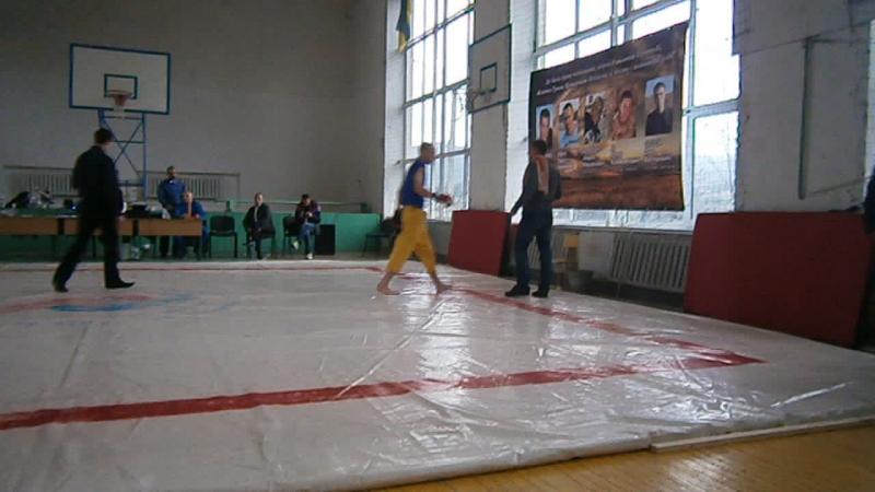 Шлях Воїна 3 4 місяця тренувань ми вирушили на перші змагання по фрі файту смт Ворохта Валєра Дякун