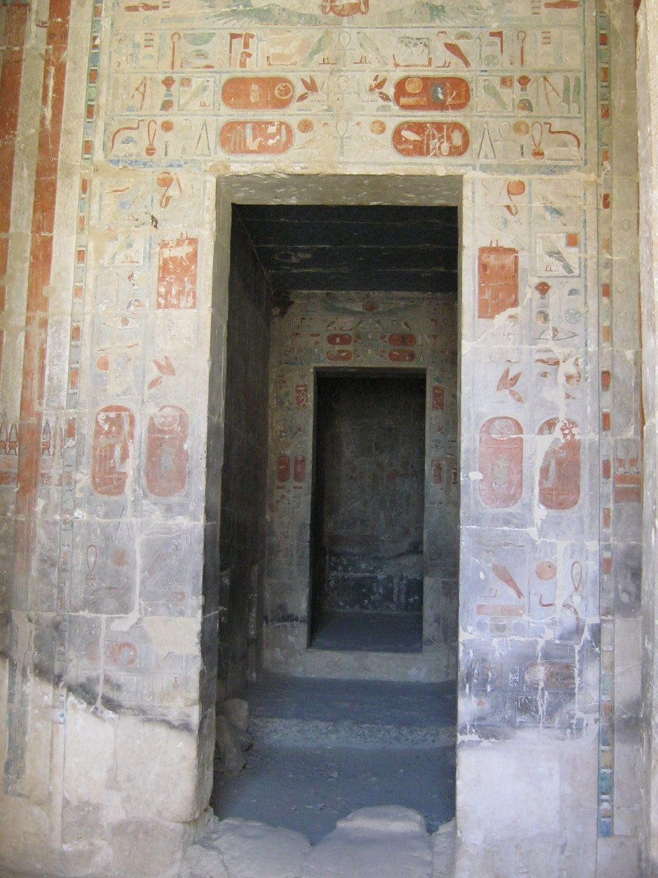 фото из гробниц в долине Царей