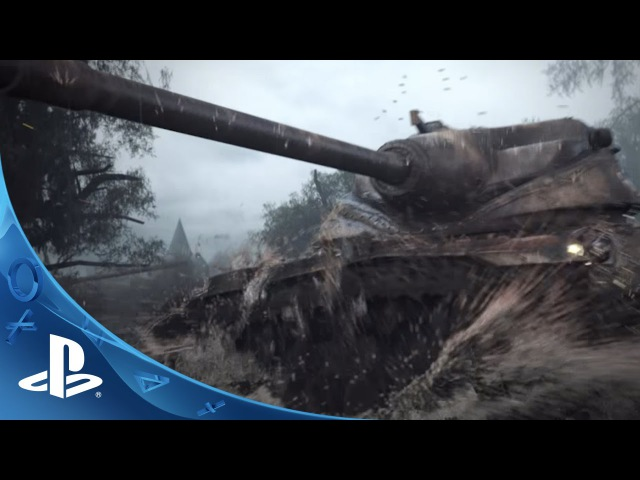 World of Tanks Announcement Trailer PS4