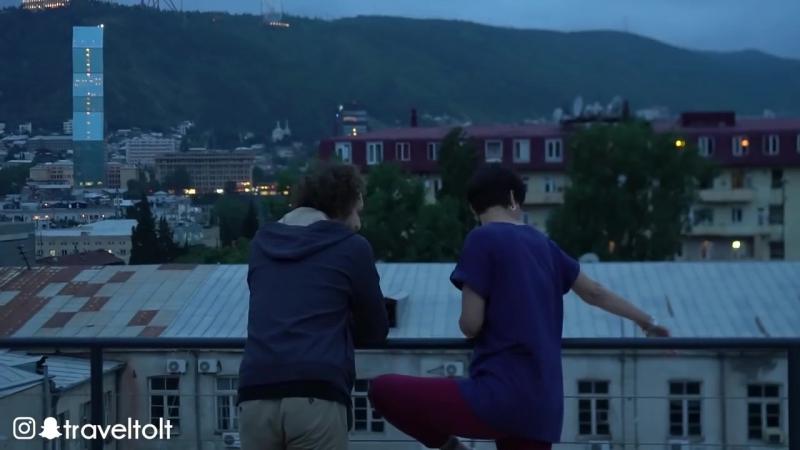 Georgia- Nightlife in Tbilissi and Kasbegi - Cinematic travel Vlog by Tolt 3