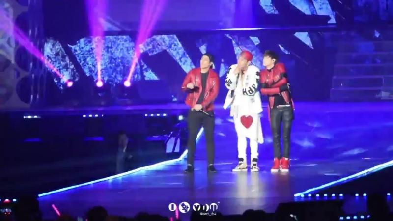 FANCAM 150422 True Swag Jun K feat Марк и Джексон @ KCON' 07