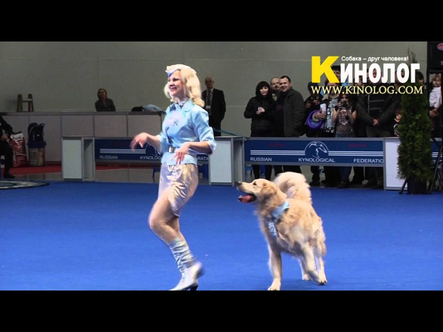 Dance Pilots / Dog Show Eurasia 2012 / Russia / Moscow. Freestyle.