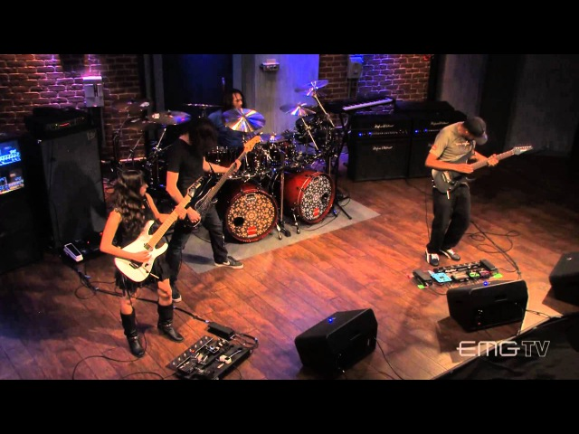 Tony MacAlpine and band play Red Giant live on EMGtv