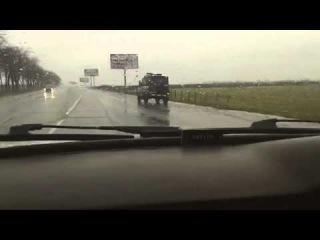 Передвижение комплексов С-300 ВСУ через Одессу