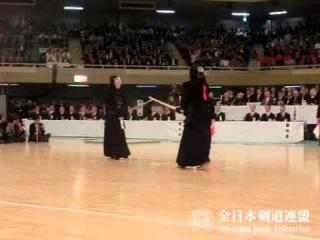 SlowMotion - NISHIMURA's M (vs KATSUMI) - 63rd All Japan KENDO Championship - Final 63