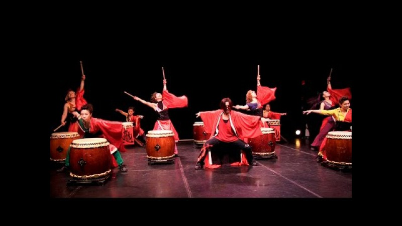 Cobu taiko Lower East Side Festival 2014 May 25 Theater for the New City