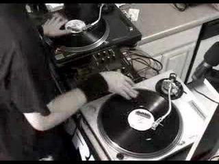 Chris Karns (fka DJ Vajra) DMC Seattle Battle Routine