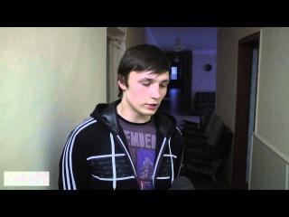 1 02 2015 Донецк ДНР Новороссия рассказ мальчика о гибели его друзей при артобстреле