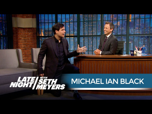 Michael Ian Black Cannot Ride Roller Coasters Anymore Late Night with Seth Meyers