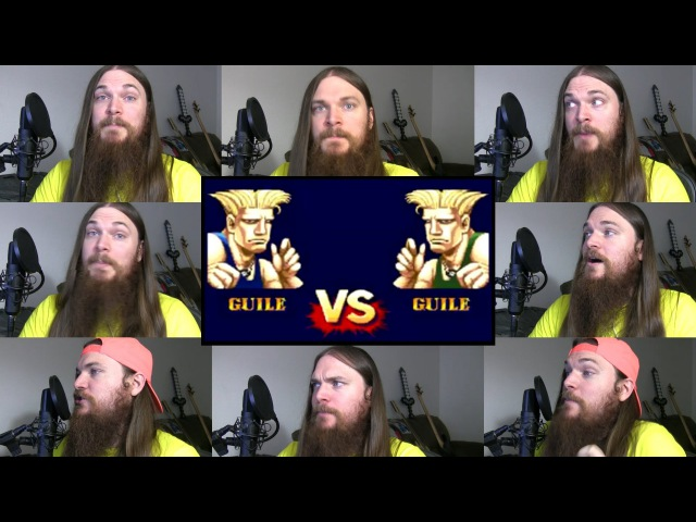 Street Fighter 2 Guile Theme Acapella