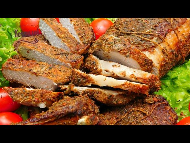 Как коптить мясо Рецепт мяса горячего копчения Коптилов