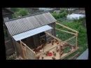 Курятник на даче Зимний домик для кур