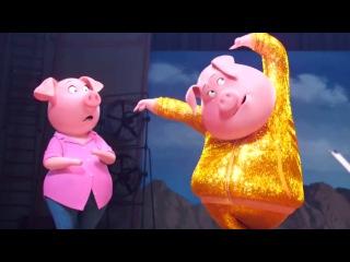 SING Featurette - Gunter (2016) Animated Comedy Movie HD
