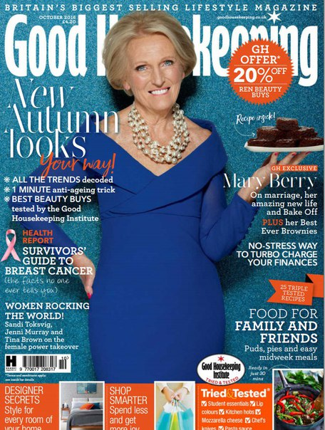 Good Housekeeping - October 2016  UK vk.com