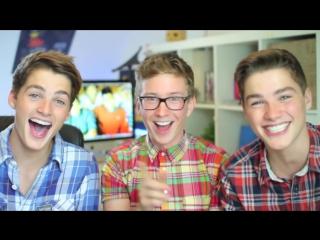 Twin twinks learn gay slang (ft. jacksgap) _ tyler oakley