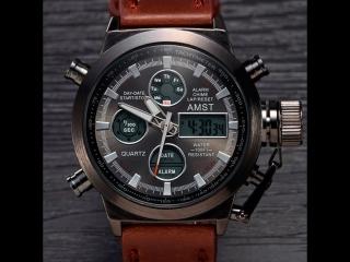 Видеообзор часов в двух вариантах цвета корпуса