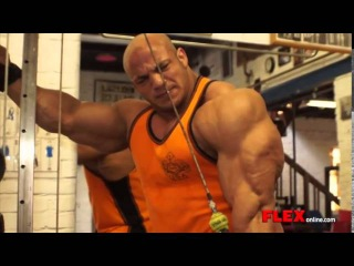 Big Ramy And Dennis James Insane Arms Workout