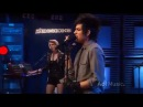 Adam Lambert strut live on AOL music session