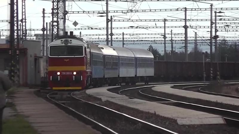Zeleznice - 12. a 13. prosince na tratich c. 091, 221, a 072