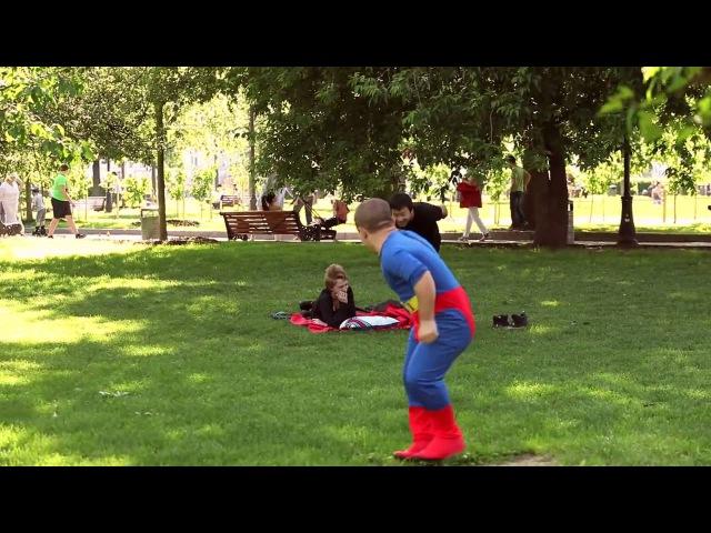 Пранк карликов маньяк ребёнок гопник супермен