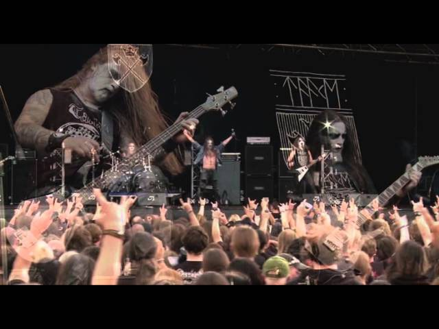 Taake Hordaland Doedskvad Part I LIVE HQ Party San Open Air 2011