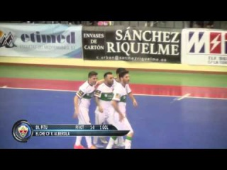 Elche CF V. Alberola vs Jumilla B Carchelo Jornada 22