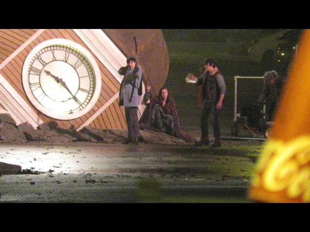 Once Upon A Time episode 513 Scene with Ginnifer Goodwin Jonathan Whitesell and Kacey Rohl