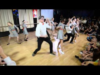 Lindy Hop, отчетный концерт, , наше выступление с другого ракурса))