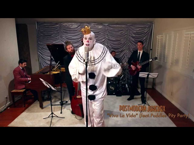 Viva La Vida from Super Bowl 50 Sad Clown Style Coldplay Cover ft Puddles Pity Party