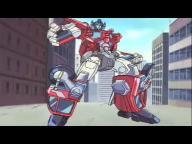 Протокол боя Мультфильм Трансформеры скрытые роботы 1 серия