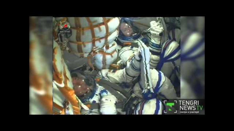 Видео старта Союз ТМА-18М с Аимбетовым. Космодром Байконур
