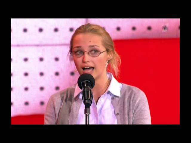 Аглая Шиловская в передаче Театр эстрады