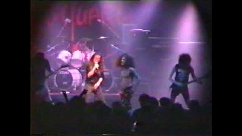 Obituary playing Celtic Frost's Circle of Tyrants