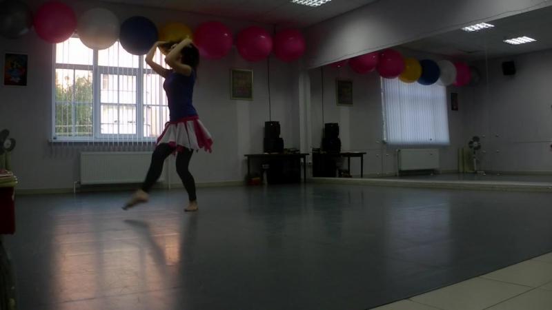 Кусочек репетиции постановки Марии Шашковой Ibhath Anni