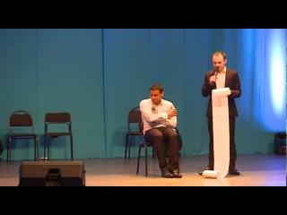 Выступление сборной команды КВН РУДН. Сцена «Санкции для Барака Обамы»