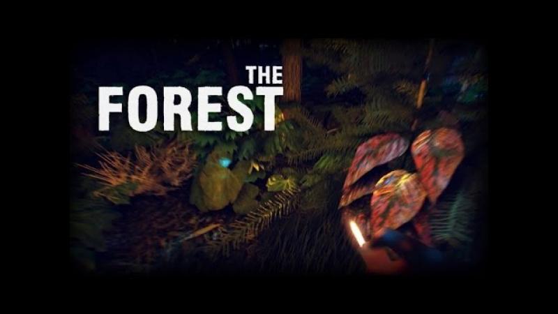 The Forest 0.04b. Обследуем лес, ставим метки, ориентируемся.